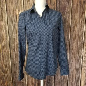 Perry ellis small slim fit button up shirt